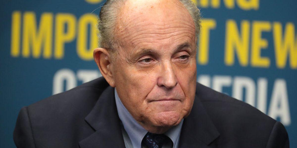Giuliani's Big Biden Scoop Looks Like A Kremlin Frameup