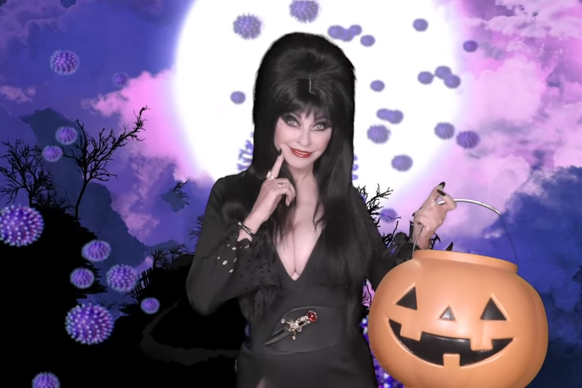 Halloween Would Suck Without You, Elvira