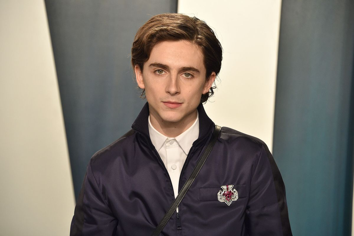 Timothée Chalamet Owns a Juicy Couture Hoodie