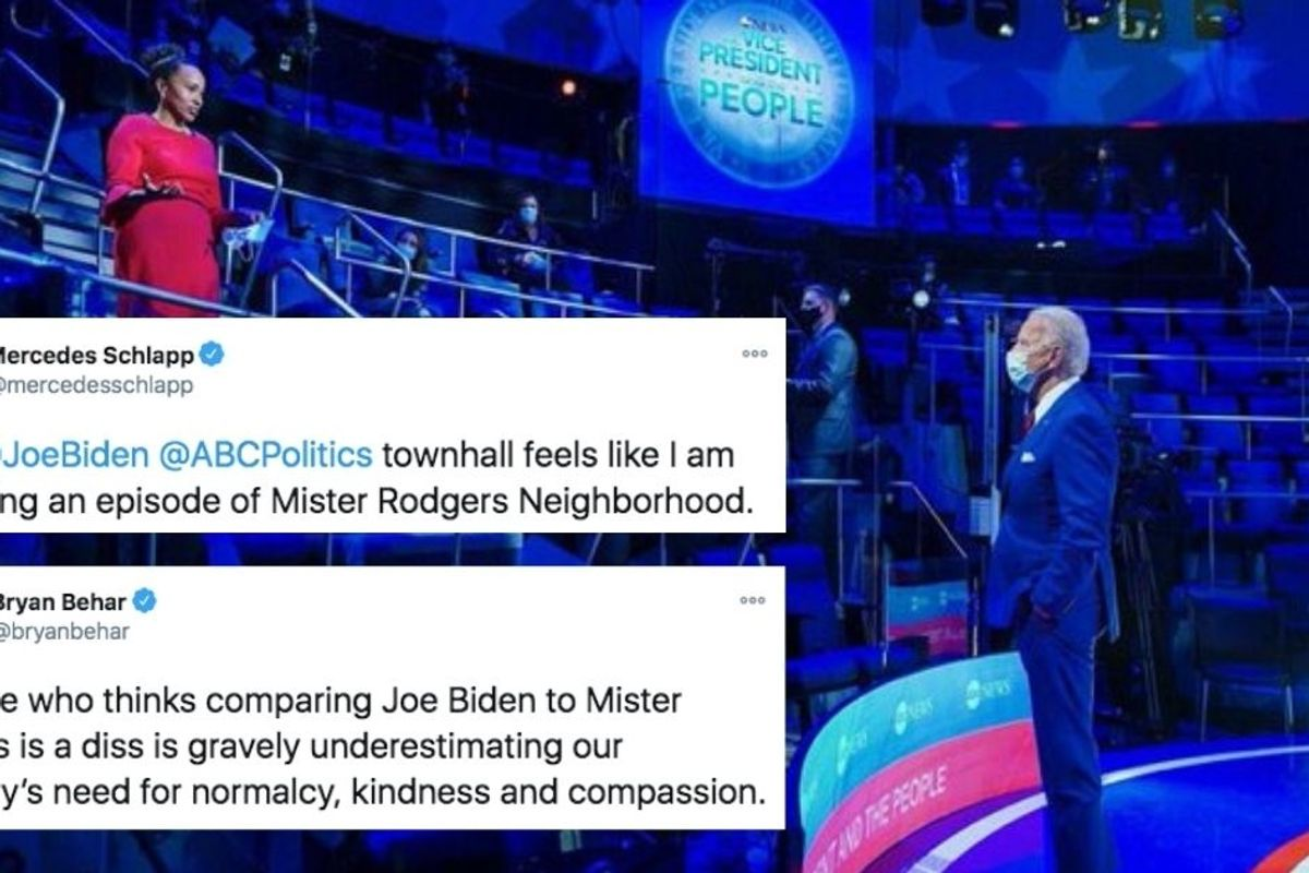Trump campaign adviser tried to 'diss' Biden by comparing him to Mr. Rogers. It didn't end well.