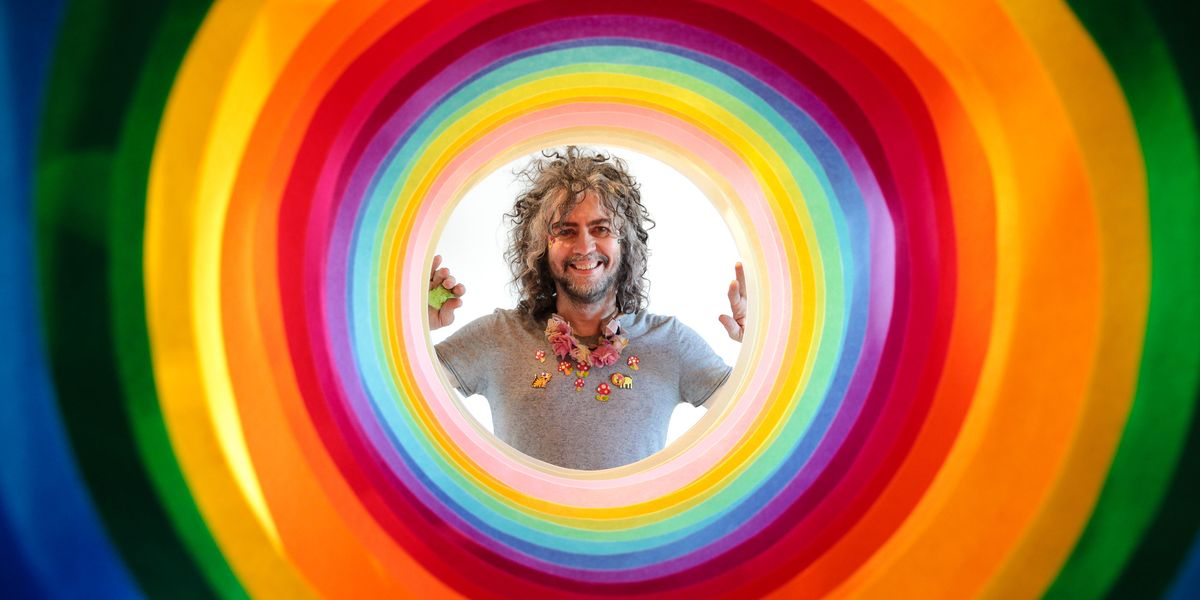 The Flaming Lips Performed in Giant Bubbles