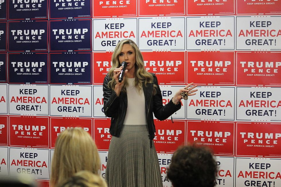 Sorry, Lara Trump, Defending Your Father-In-Law For Putting Down Another Woman Makes You Anti-Women