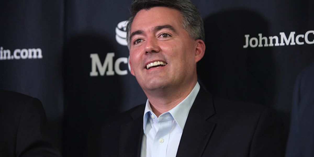 Democratic PACs Drop Colorado Ads — Because Sen. Gardner Is Doomed