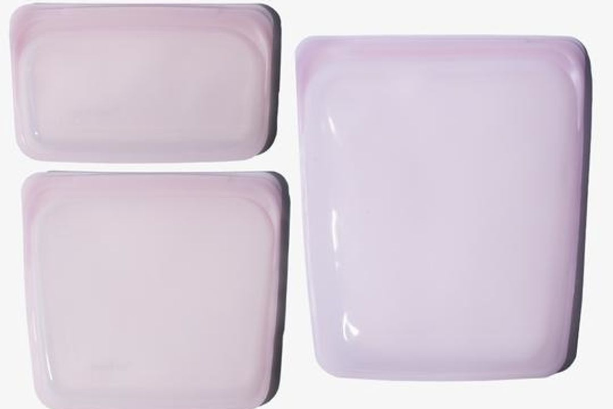 Reusable Silicone Storage Bag Bundle