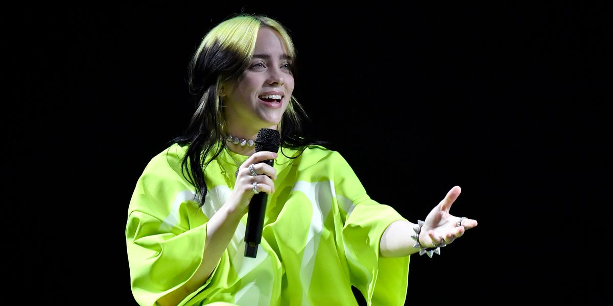 Billie Eilish's Optical Illusion Shoes Have Divided the Internet