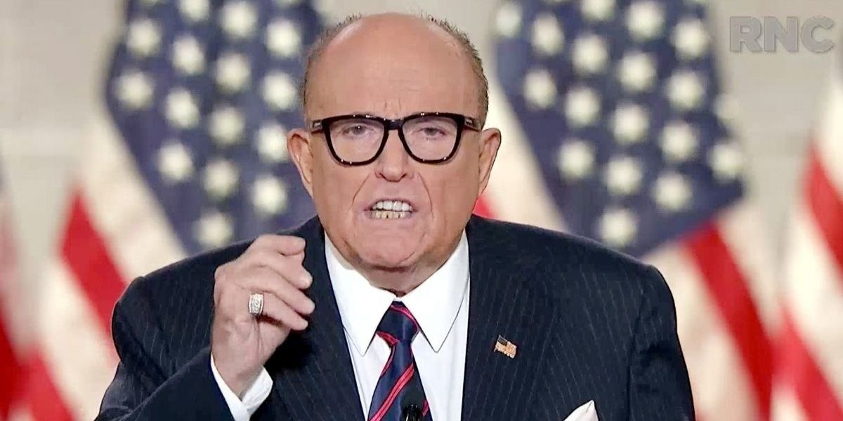 Rudy Giuliani Admits His Reason For Giving His Hunter Biden Story To The New York Post—And Yikes