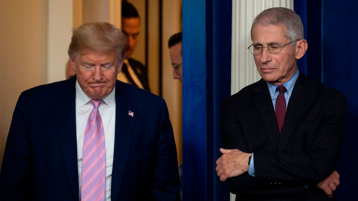 Trump Calls Fauci 'a Disaster,' Tries to Blame Science and Medical Experts for Failed Coronavirus Response