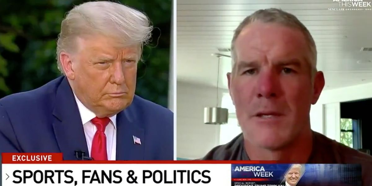 NFL legend Brett Favre announces support of President Donald Trump: 'My vote is for what makes this country great'