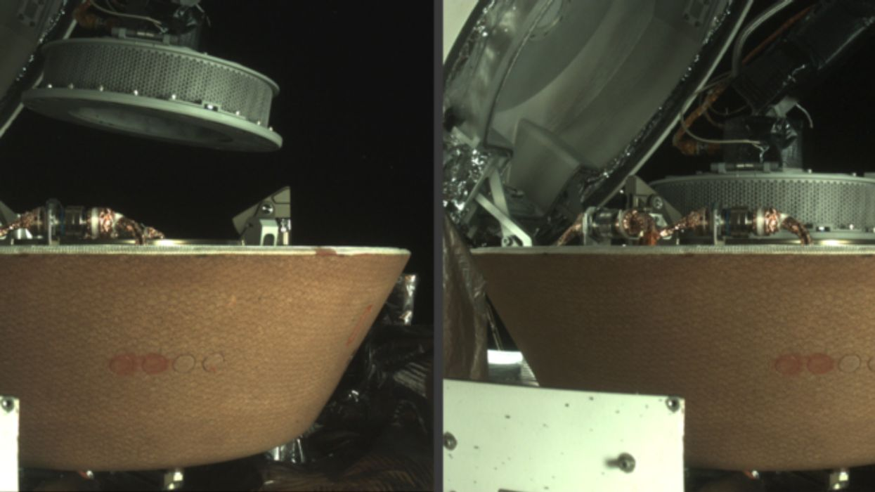 NASA Spacecraft Successfully Collects Asteroid Samples