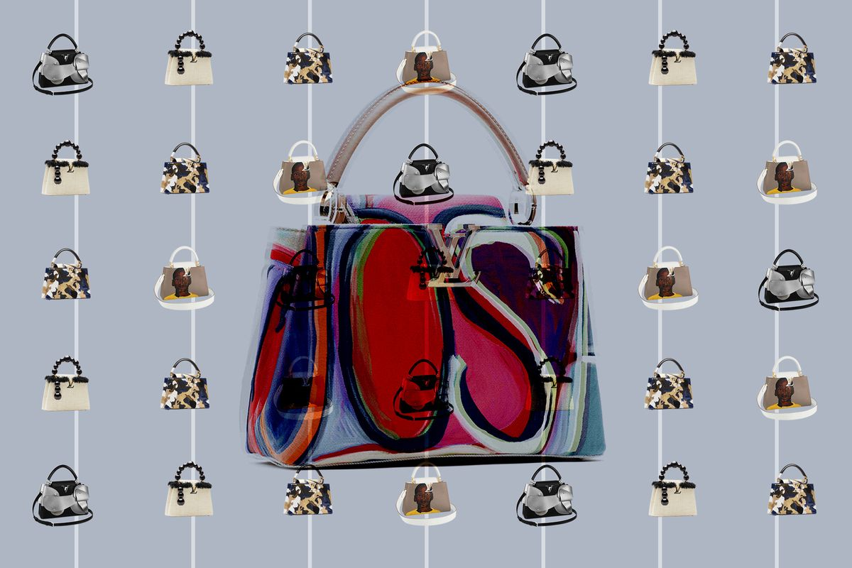 How Six Contemporary Artists Transformed Louis Vuitton's Capucine Bags
