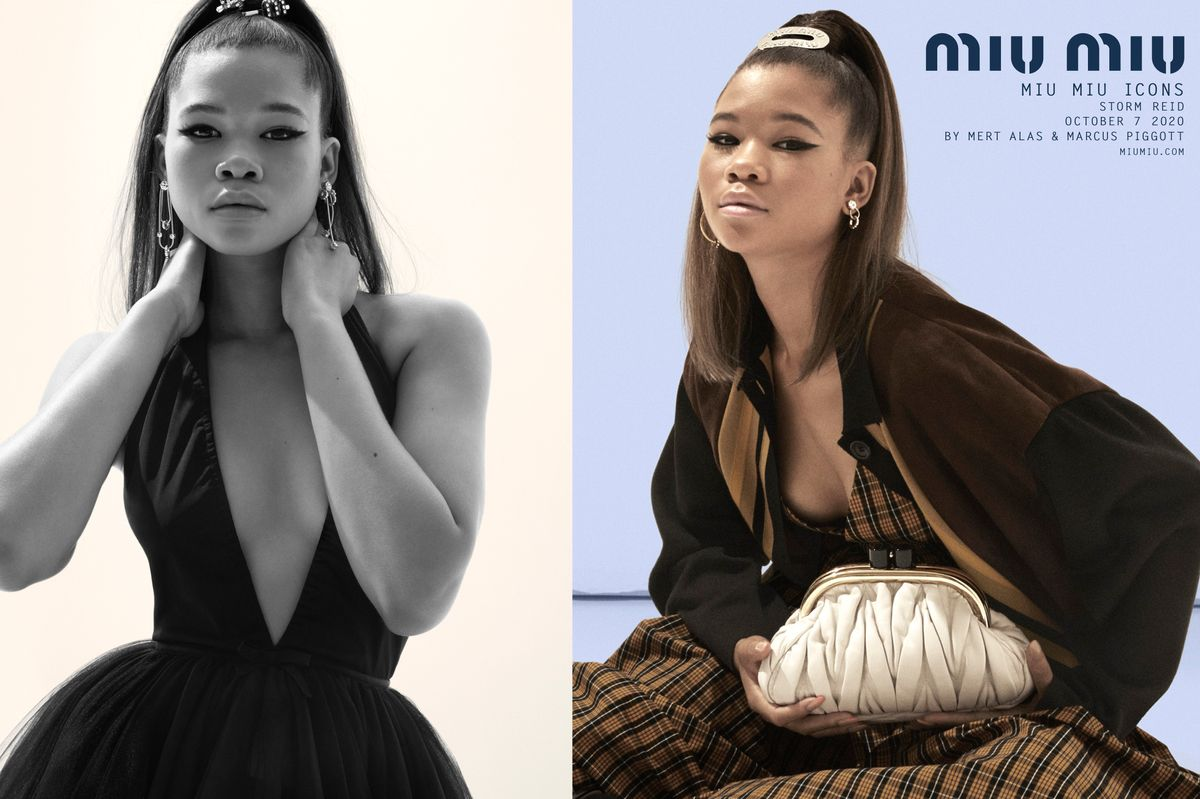 Storm Reid, Chloe Sevigny and Kim Basinger Front Miu Miu's Latest Campaign