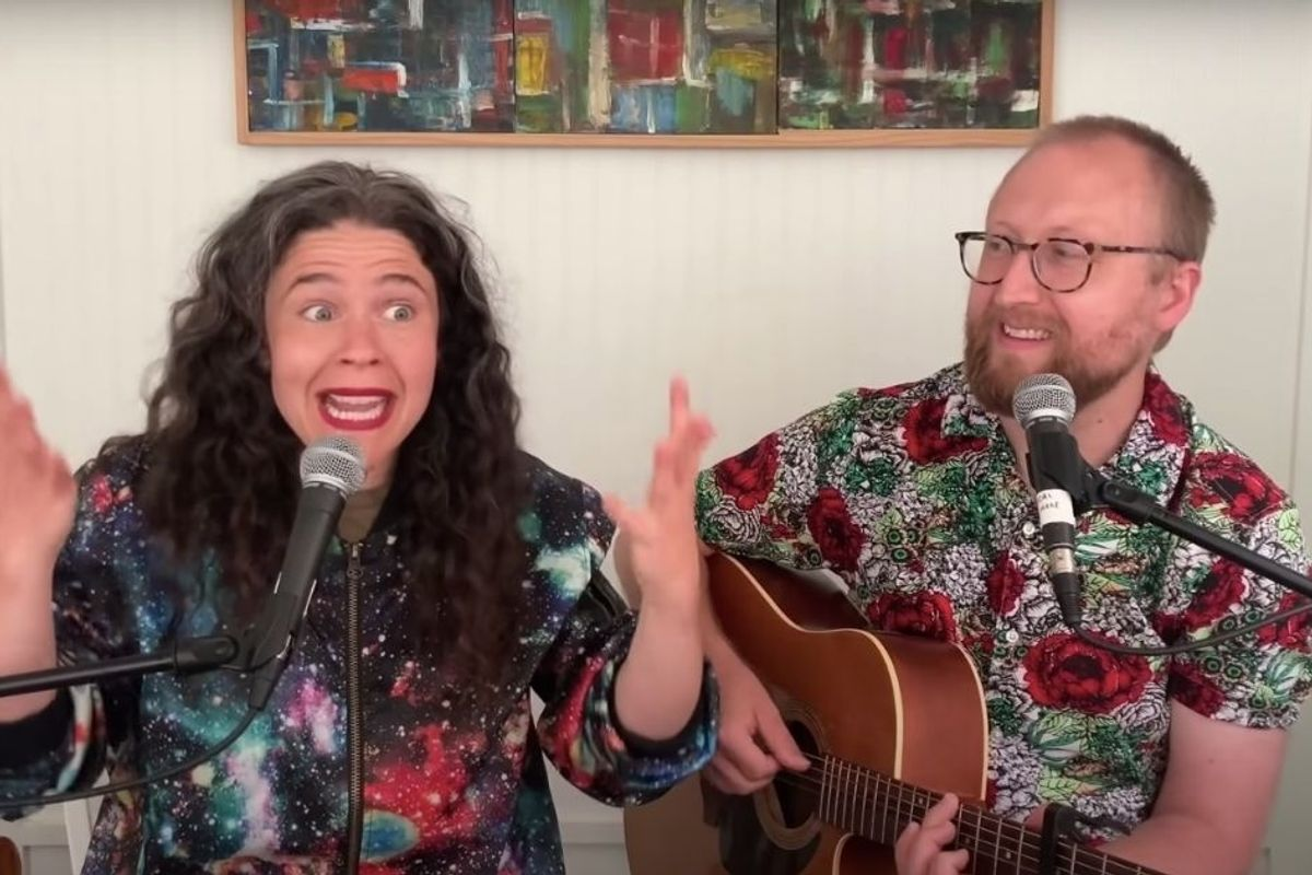 The oddly cathartic 'Keep Going Song' will make you alternate between laughing and crying