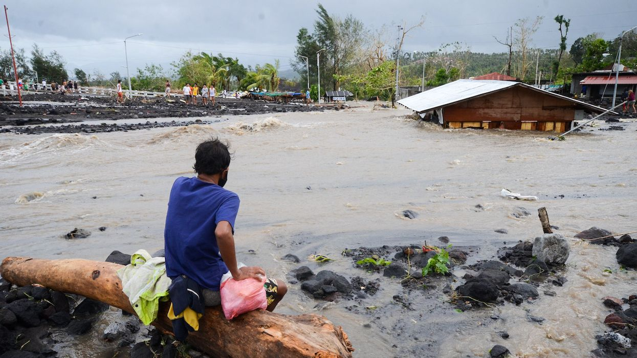 Typhoon Goni, One of the Strongest Storms on Record, Slams the Philippines