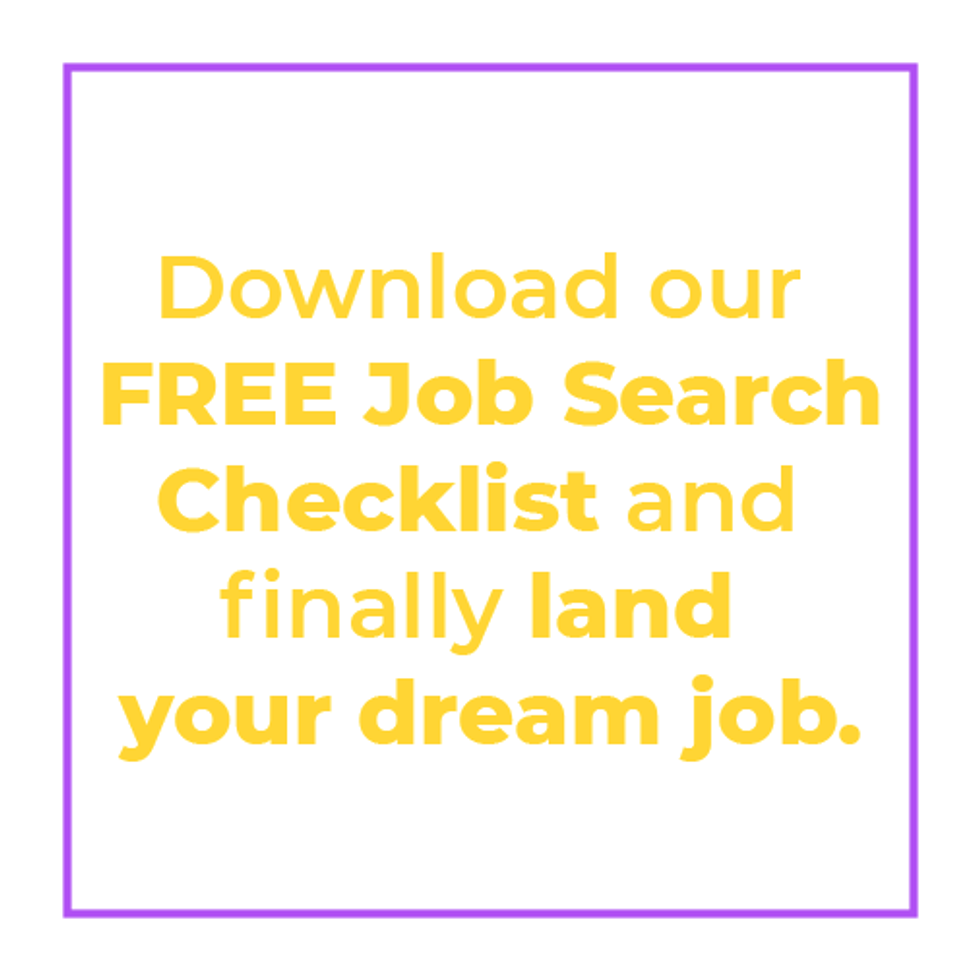 Download Work It Daily\u2019s free job search checklist
