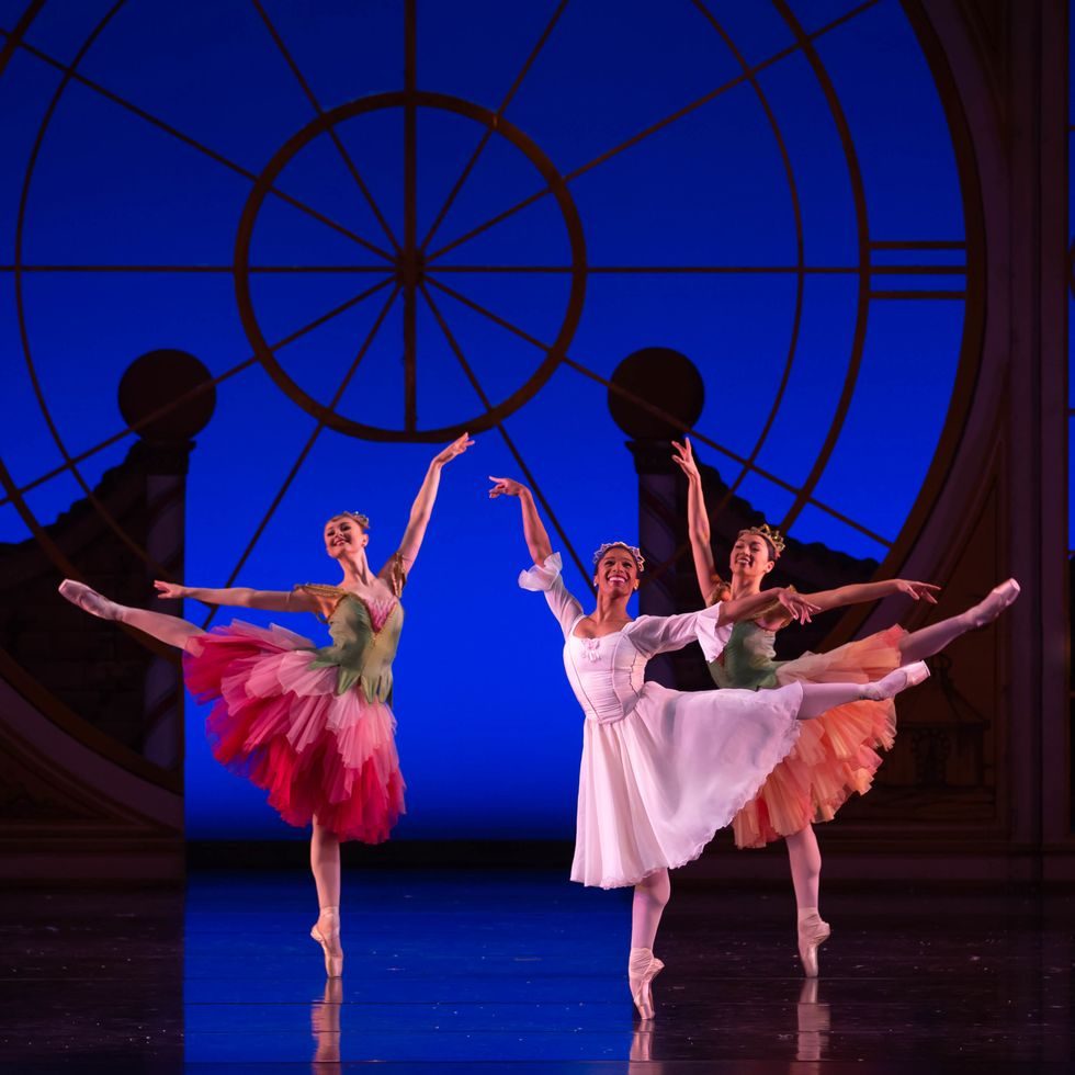 Wearing a white dance dress, pink tights and pointe shoes, Rachael Parini does a first arabesque on her right leg and looks out to the audience. Moving to Columbus, Ohio, felt like fate; during her first day in the city, Parini bumped into a man in her apartment building who later became her husband.</p><p>At BalletMet, Parini's career has taken off. <br> <br> <footer id=