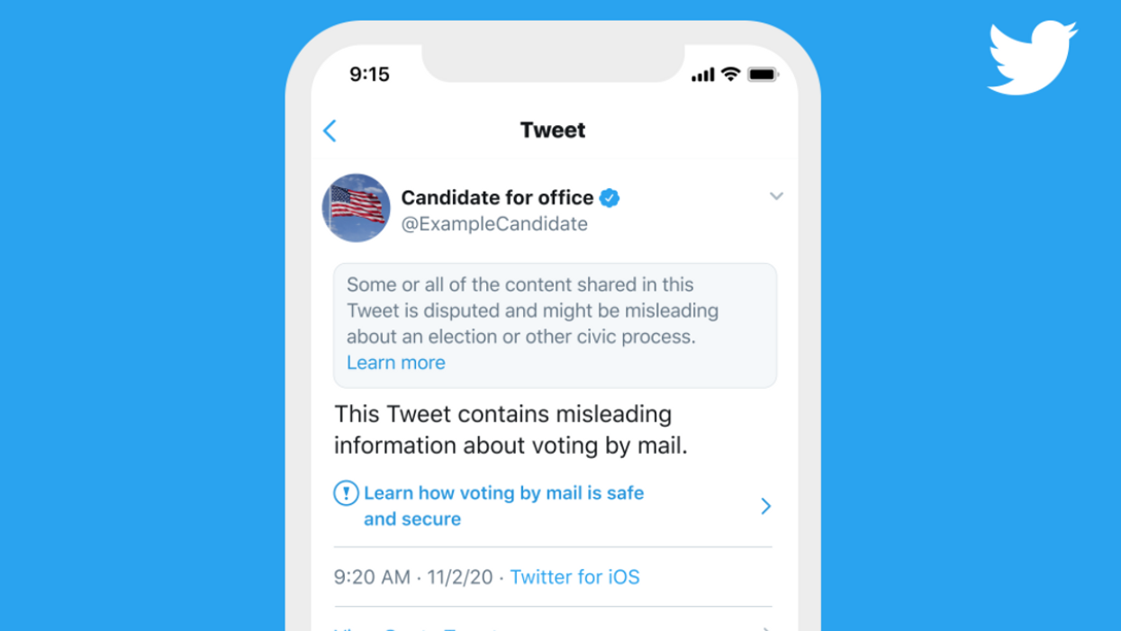 Election results: How Twitter, Facebook plan to block misinformation
