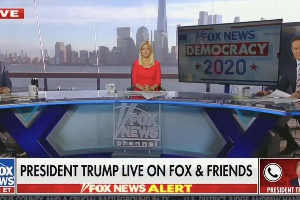 In bizarre Election Day Fox News meltdown Trump says U.S. is more corrupt than Russia, China or North Korea