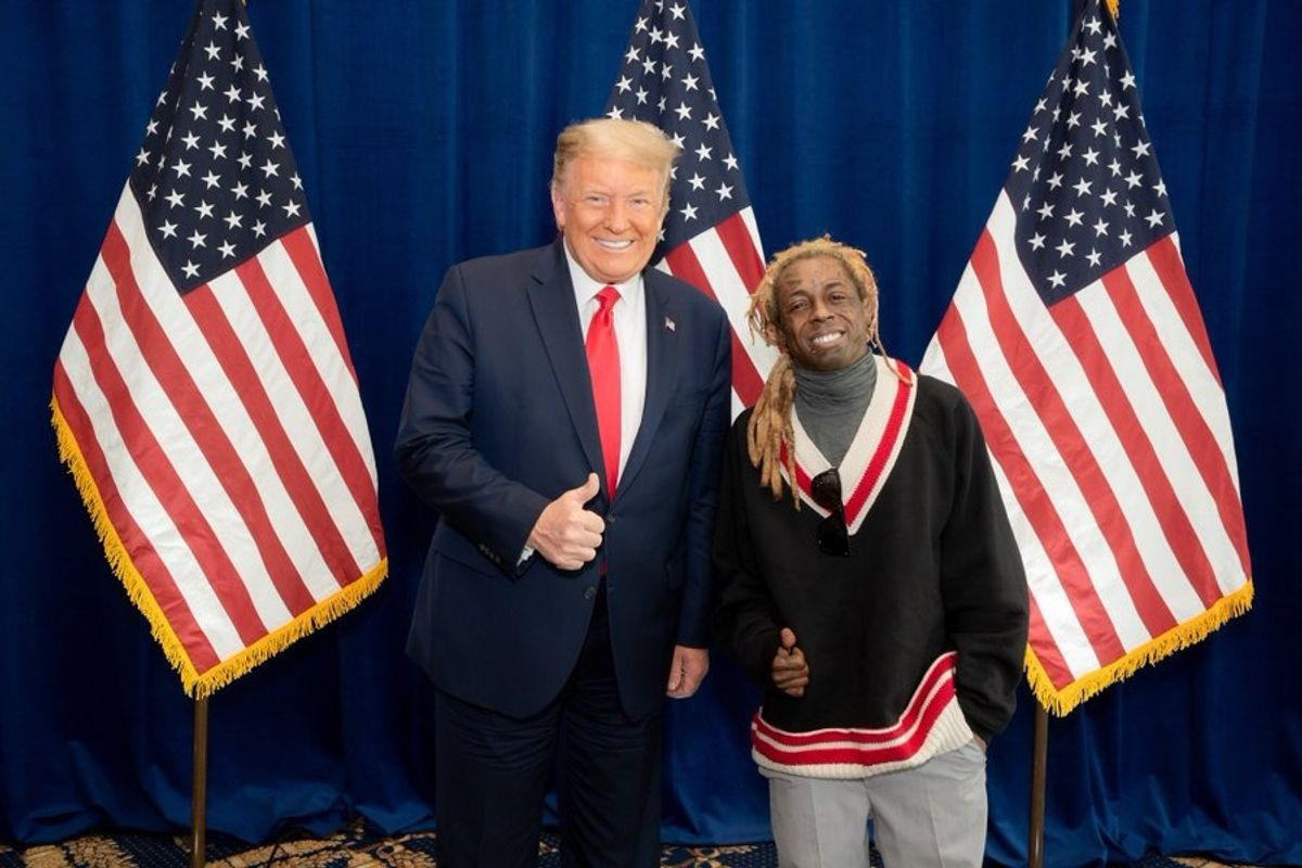 Lil Wayne's Girlfriend Dumps Him Over Trump Endorsement