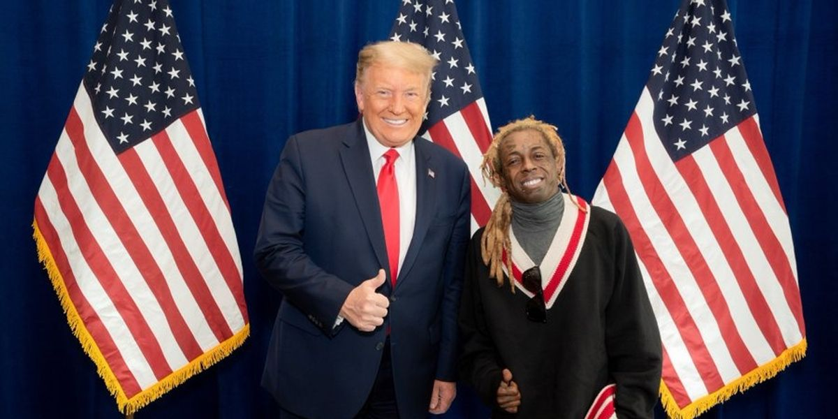 Lil Wayne's Girlfriend Dumps Him Over Trump Endorsement