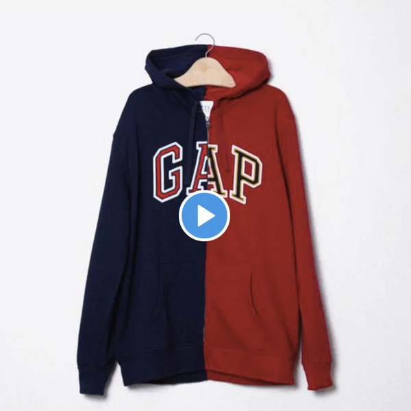 What Was Gap Thinking With That Blue and Red Hoodie Tweet?
