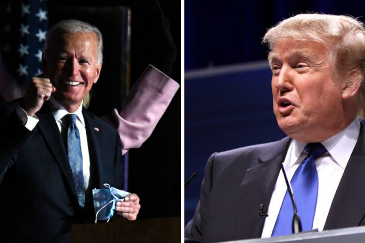 As Wisconsin and Michigan are called for Biden, Trump baselessly cries 'irregularities'
