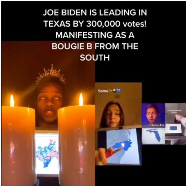 This TikTok Manifestion Meme Is Hoping For a Biden Win