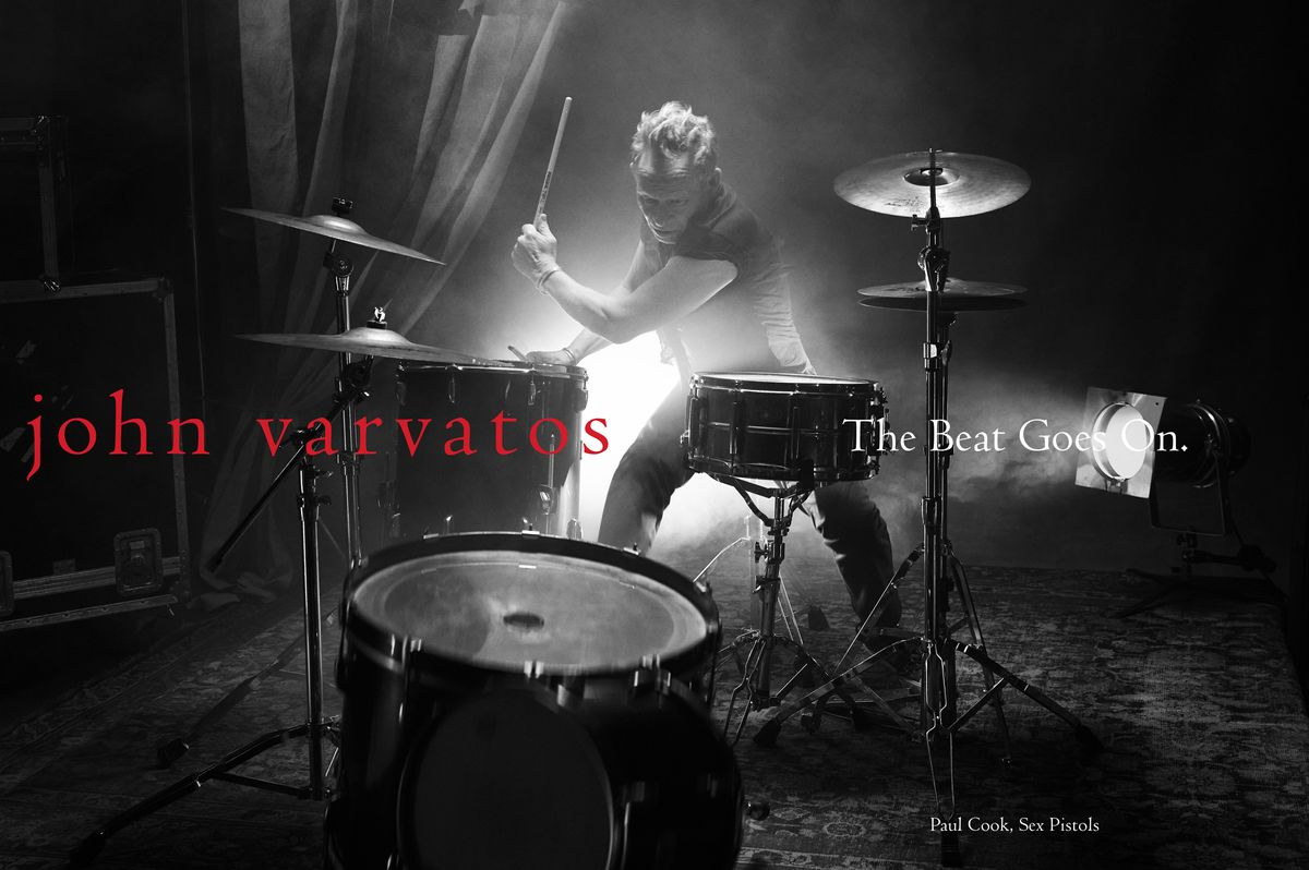 Sex Pistols Drummer Paul Cook Stars in New John Varvatos Campaign
