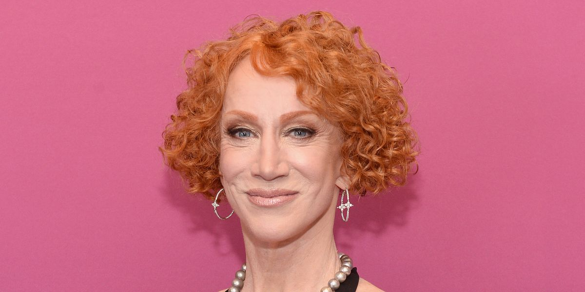 Kathy Griffin Brought Her Famous Trump Pic Back