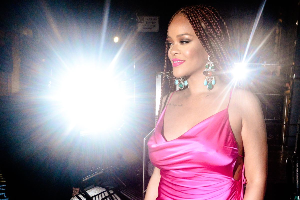 Rihanna Says 'Count Every Vote'