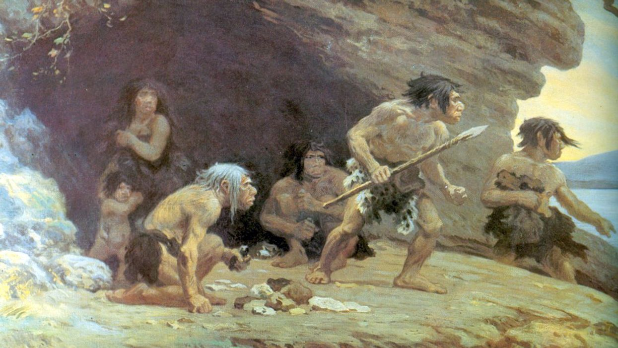 How humans and Neanderthals battled for supremacy for hundreds of thousands of years.