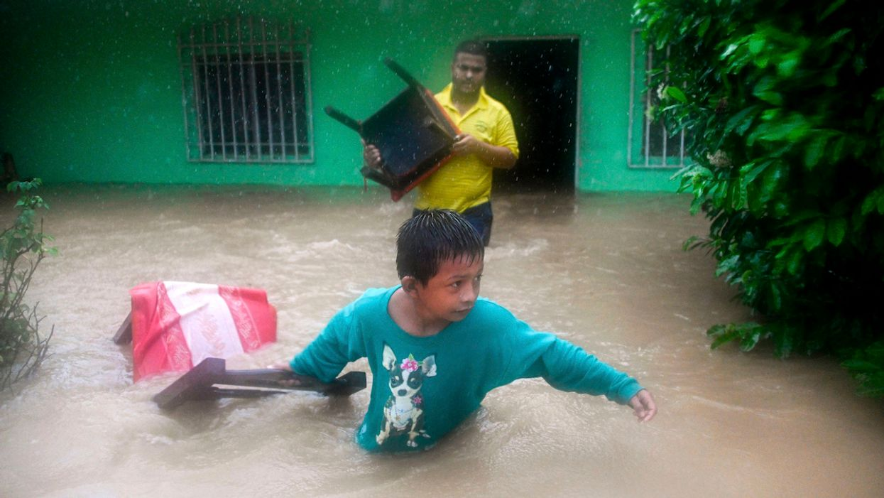 Eta's Path of Destruction Continues With Flooding in Central America