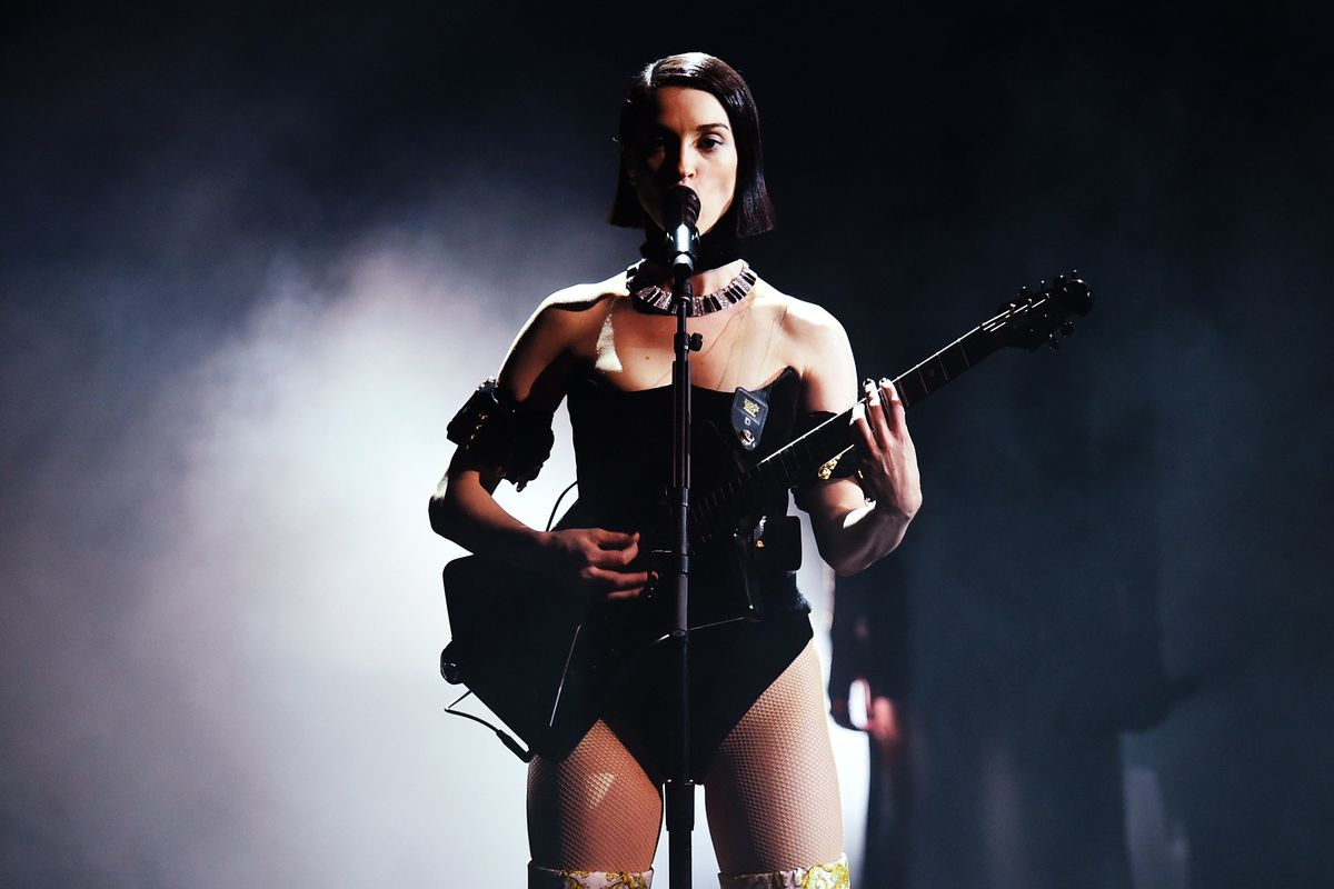 St. Vincent Covered Nine Inch Nails