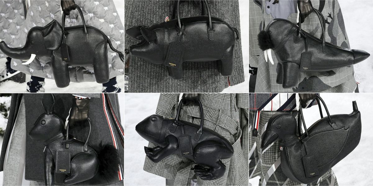 Which Thom Browne Animal Will You Be Carrying Around?