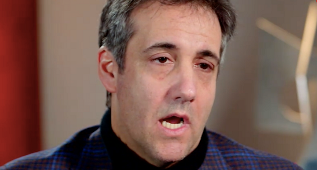Michael Cohen warns 'Trump is psychotic right now' — and may 'burn down the White House'