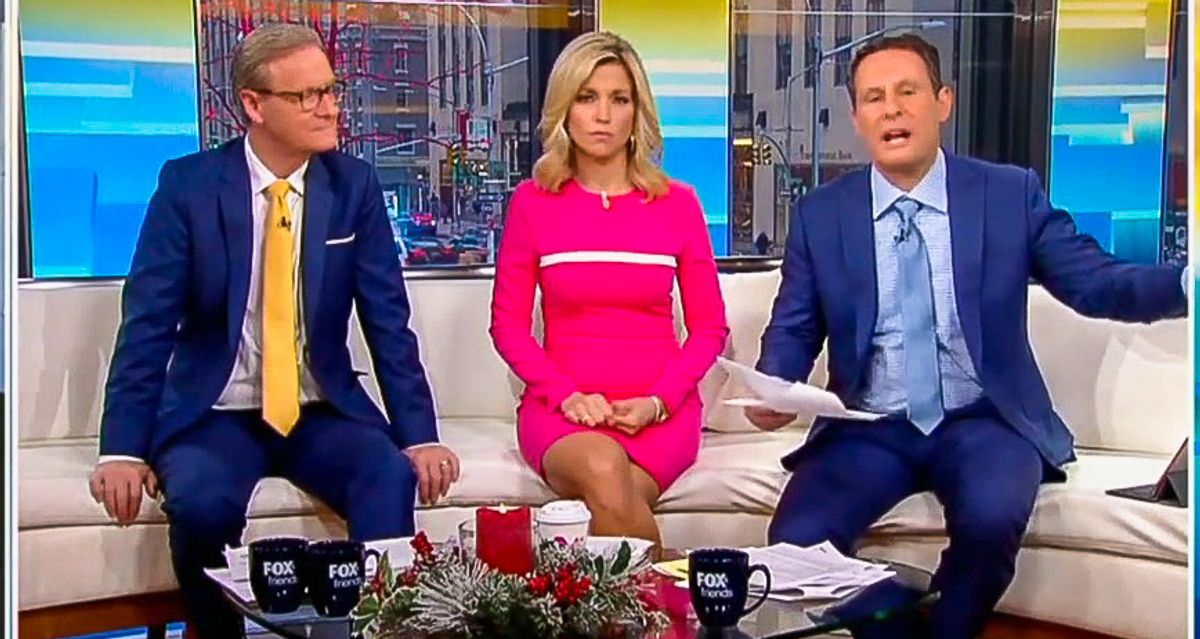 Fox & Friends cries bitter tears over second Trump impeachment: 'They've hated him since Day 1!'