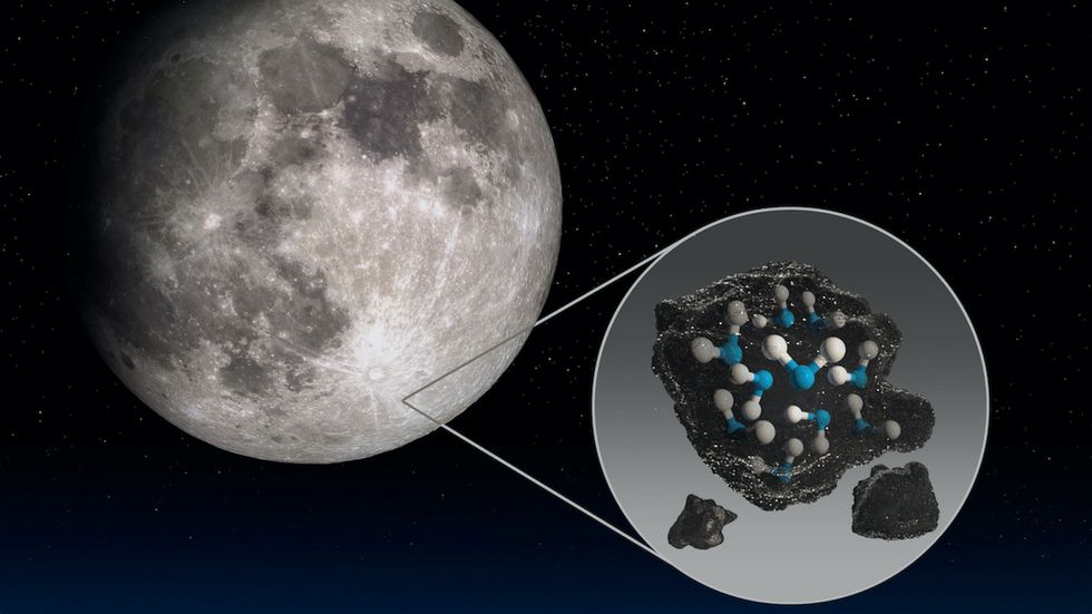 NASA Detects More Water and Ice on the Moon Than Previously Thought