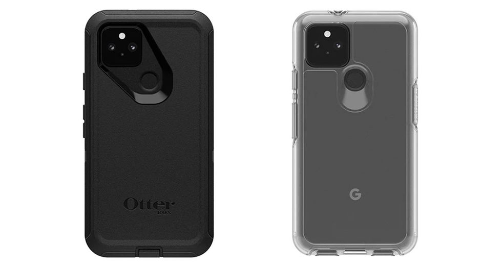 The Defender and Symmetry cases for Pixel 5 by OtterBox