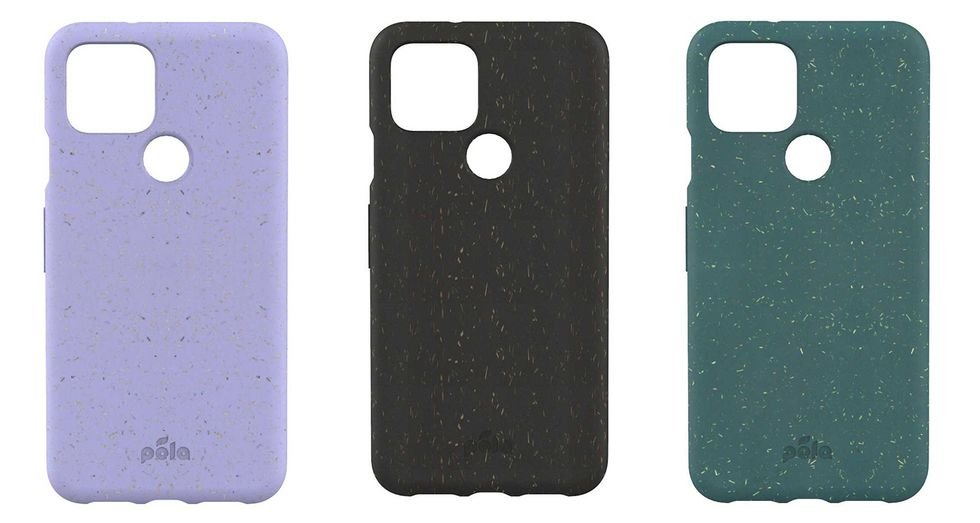 Compostable phone case for the Pixel 5 by Pela