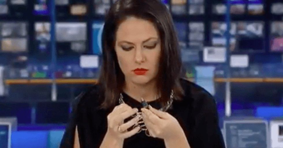 Daydreaming News Anchor Loses Her Job After Her Blooper Goes Viral