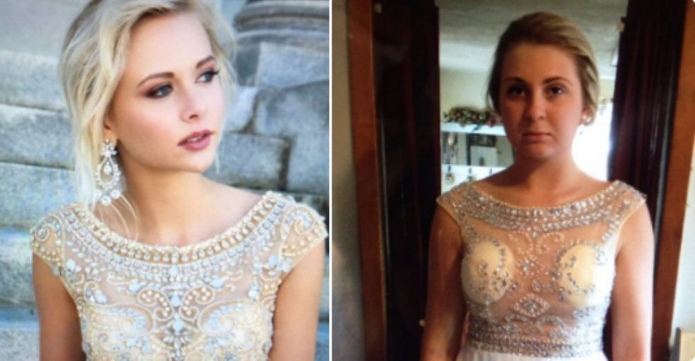 These Online Prom Dress Fails Make the Case For Always Buying In Person