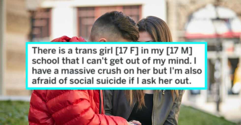 Teen Boy Asked for Advice About Dating a Transgender Girl and It's Beyond Adorable