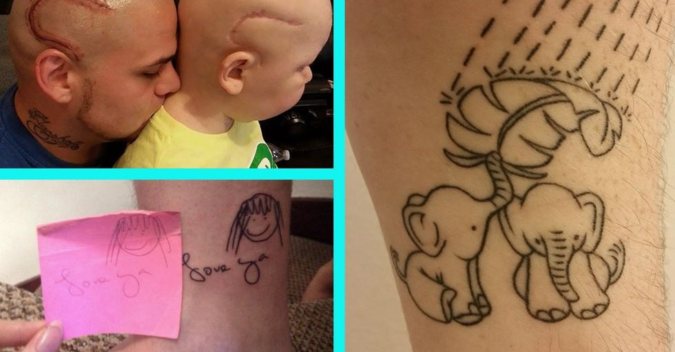 25 Tattoos That Are Actually Really Heartwarming