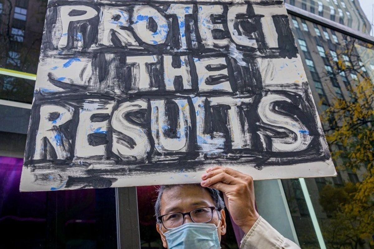 Nearly 400 'Protect the Results' rallies planned to fight election night theft