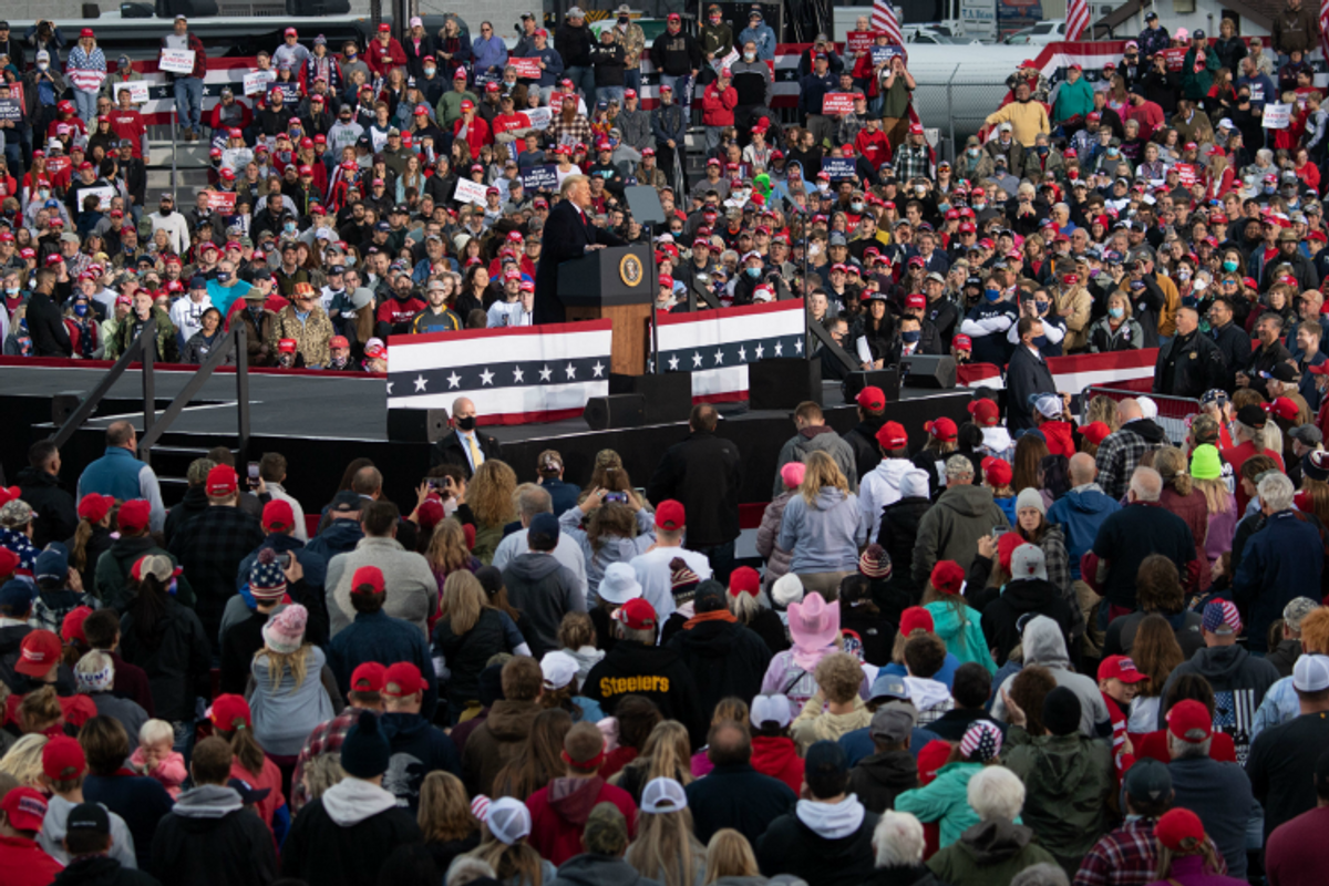 Where Trump goes, COVID follows—cases spike in counties where he's held rallies