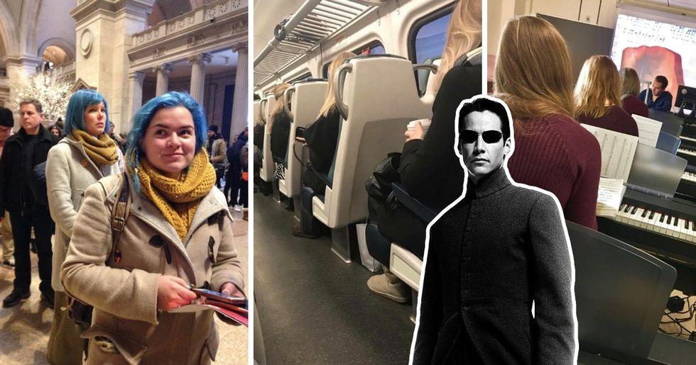 29 Creepy Doppelgänger Photos That Prove There's a Glitch in the Matrix