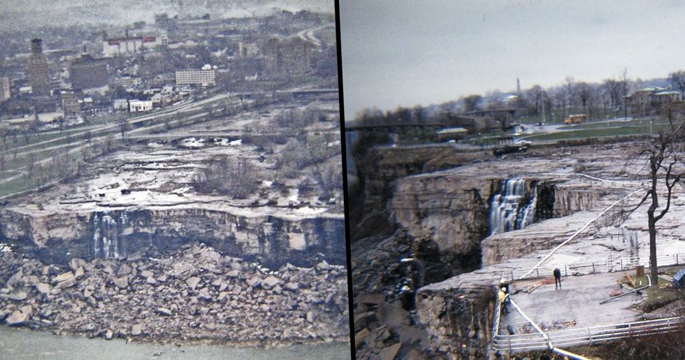 Engineers Found Dead Bodies In The Niagara Falls When They Drained The Water