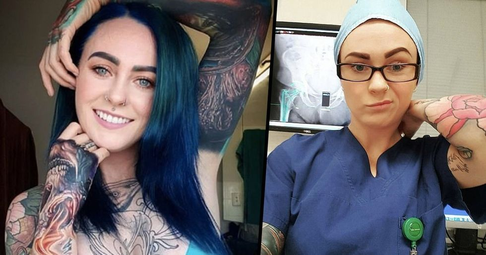 World's Most Tattooed Doctor Speaks Out About the Judgement She Receives