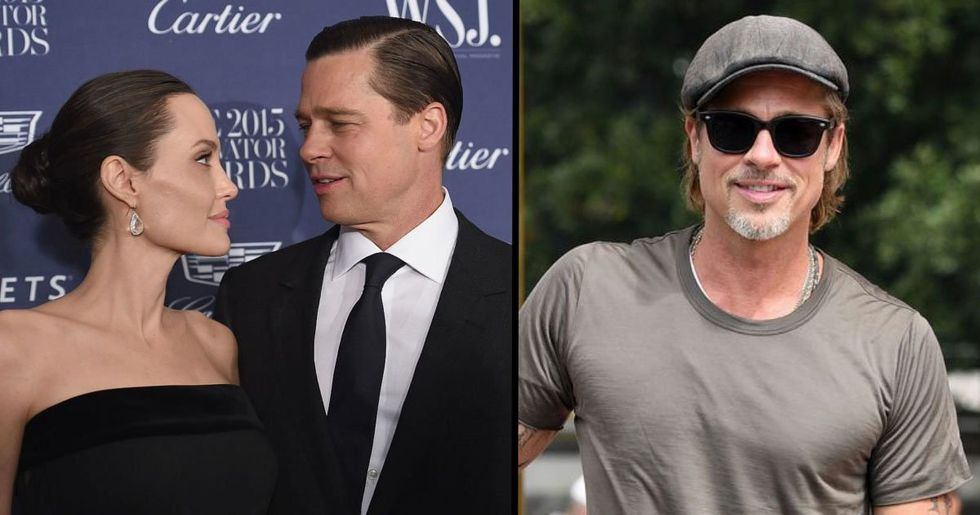 People Think Brad Pitt's New Tattoo Is A Dig at Angelina Jolie
