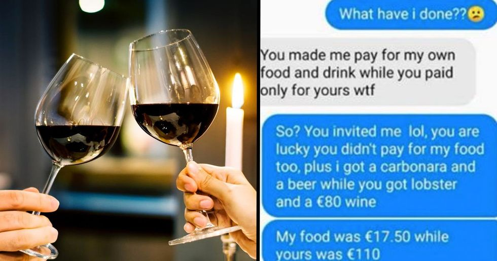 Student Refuses to Pay for Meal After Date Orders Lobster and $90 Bottle of Wine