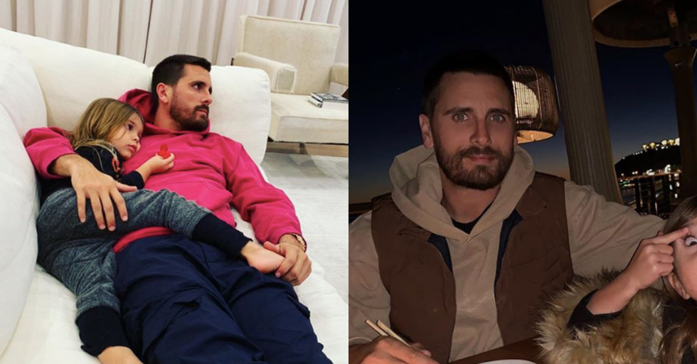 A Photo of Scott Disick and His Daughter Is Causing Major Backlash